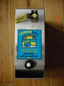 Laat vandaag nog een condoomautomaat plaatsen.